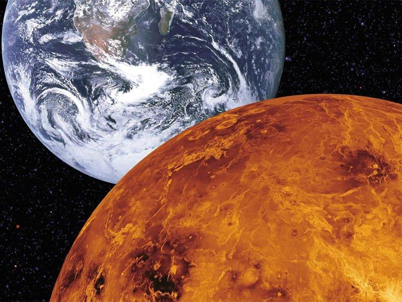 Venus as possible future of the Earth