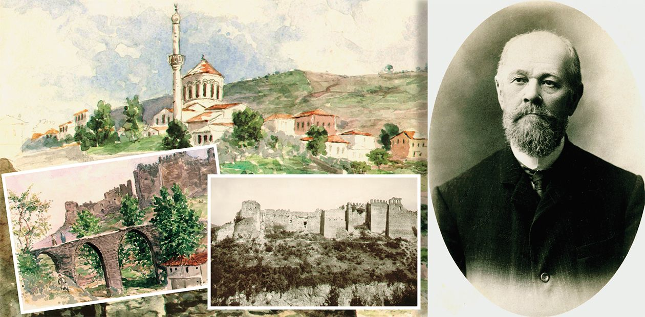 Archaeology... in the War. Russian Scholars in Trabzon