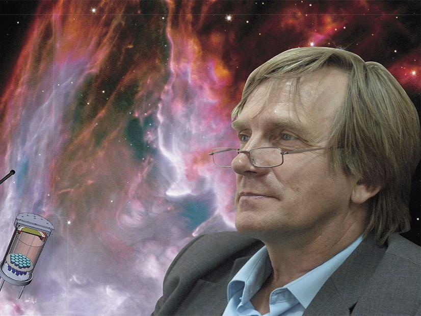 Dean of the NSU Physics Department: New Programs in Astronomy and the Search for Dark Matter