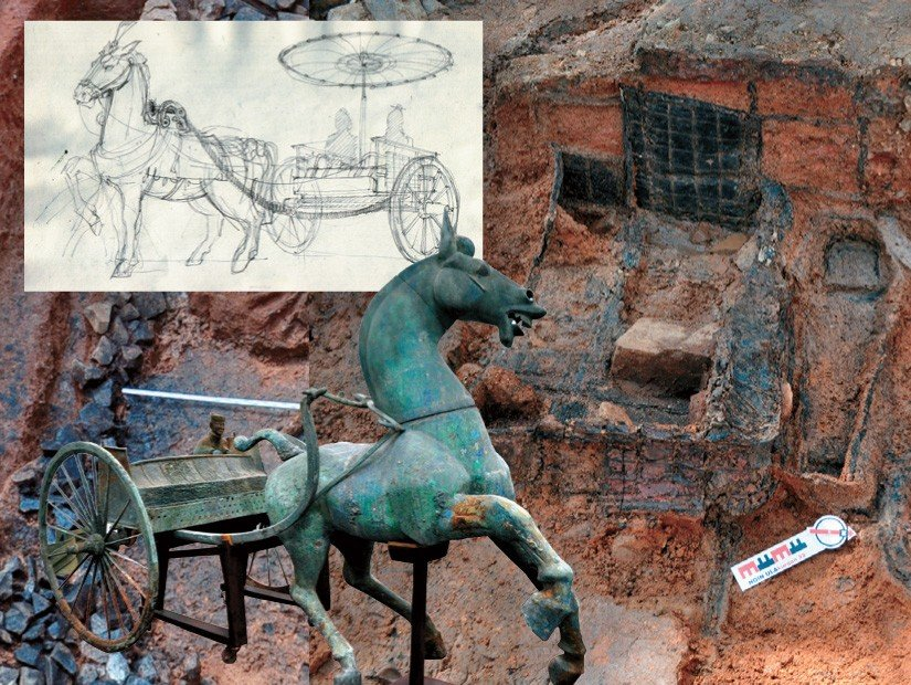 Traces of Chinese Chariot