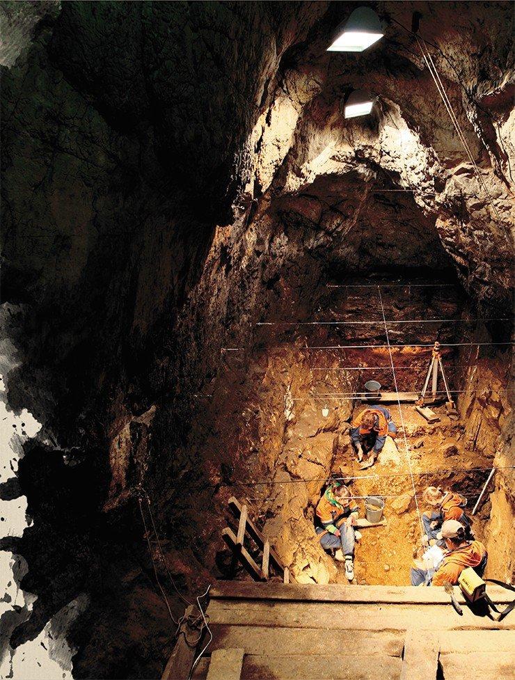 Денисова пещера – надежное хранилище древней истории Алтая. Фото М. Шунькова
