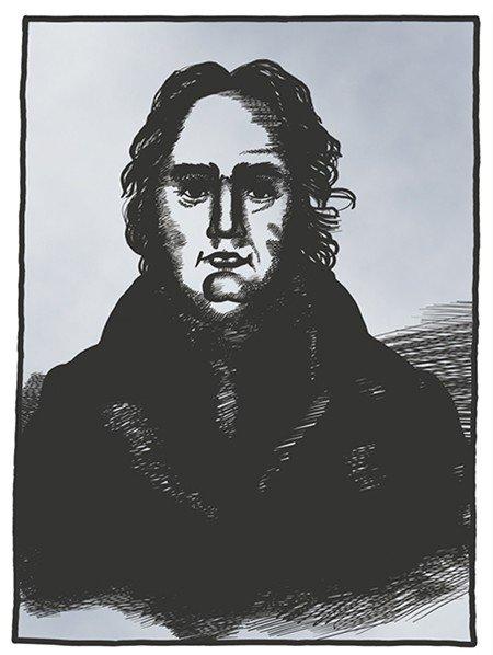 По мнению некоторых исследователей, на рисунке изображен Герард Фридрих Миллер