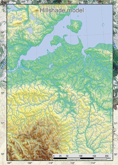 карта земли с меридианами и параллелями