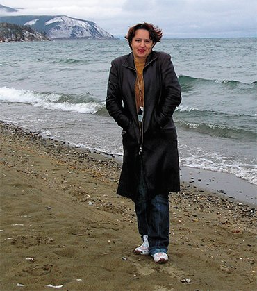 Anzhelika Tissen, leader of the nongovernmental organization For the Pure North Baikal (Severobaikalsk)