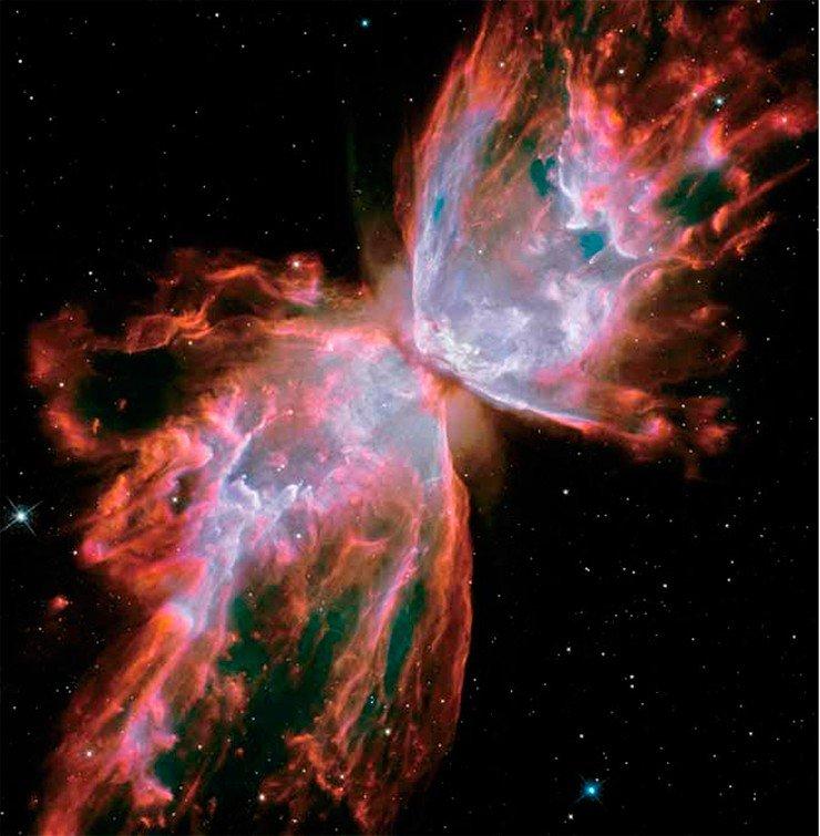 Гибнущая центральная звезда