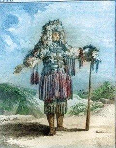 Камчадал. Kracheninnikow S. Voyage en Siberie: La description du Kamtchatka. T. II. Paris, 1768