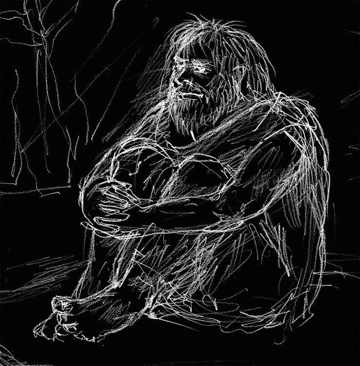 Рис. А. Абдульмановой. Источник: д/ф «Тигирек: эскизы древней истории»