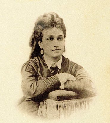 Anna Ipatieva, born Glinka (1847—1897), mother of Vladimir N. Ipatieff