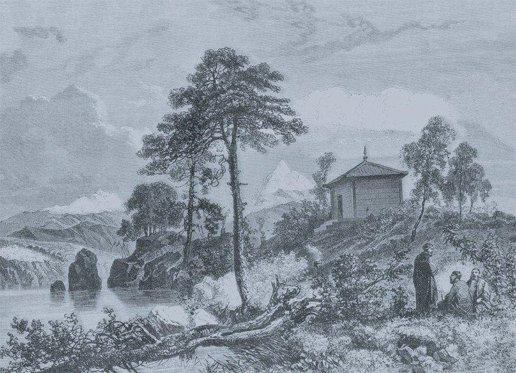 Тунгусский храм Народы России: Живописный альбом. — СПб., 1880