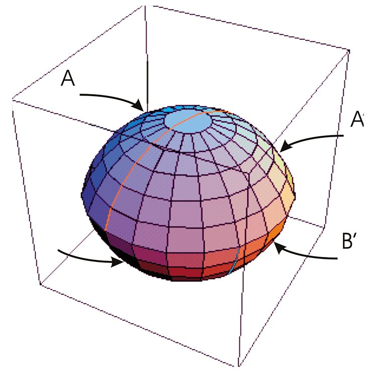 "Let p/q be an irreducible fraction with the condition p > q > 1. In the spherical space S³, let us consider a lens with the angle equal to /p, and let us divide its edge by points 1,2,…,2p into 2p equal parts. Then we connect pairs of points {p, 2p} and {q, p + q} by the spherical arcs located on the opposite sides of the lens. We will identify halves of the lens faces A,A' and B,B' by turnover. In the case of p/q = 2/1 we will obtain Hopf link consisting of two linked circles; in the case of p/q = 3/1 — trefoil knot; in the case p/q = 5/3 — the earlier described ""eight"" knot"