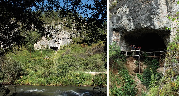 Denisova Cave is the most ancient Paleolithic site in Siberia. The first hominin appeared there 300,000 years ago