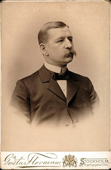 The Swedish explorer Salomon August Andrée (1854–1897). Photo Gösta Florman. © Nordic Museum (Nordiska museet), Stockholm. The photo was provided to Wikimedia Commons by Nordiska museet within the joint project of Wikimedia Sverige