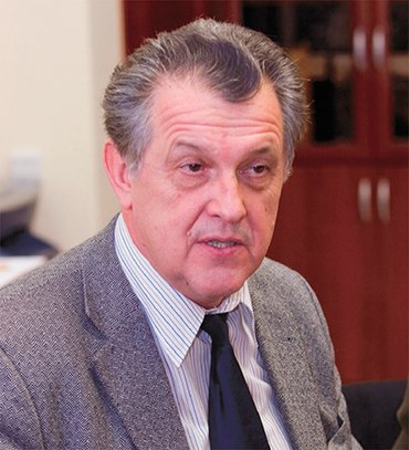 N. S. Dikansky, Academician RAS, Head of the laboratory BINP SB RAS, rector NSU from 1997 to 2007