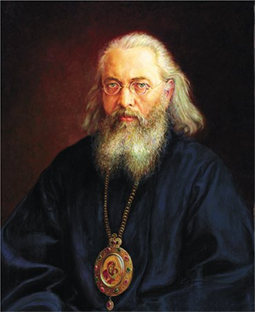 Portrait of Holy Archbishop Luka by I. V. Gaiduk, 2007. Oil, canvas, 60 × 50 cm. http://gayduk.org/. By the courtesy of the author