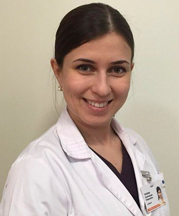 Alexandra Romanovna Tarkova is a post-graduate student at the Center for the Surgery of the Aorta, Coronary and Peripheral Arteries with the Novosibirsk Research Institute of Blood Circulation Pathology named after E. N. Meshalkin, a physician and a cardiovascular surgeon